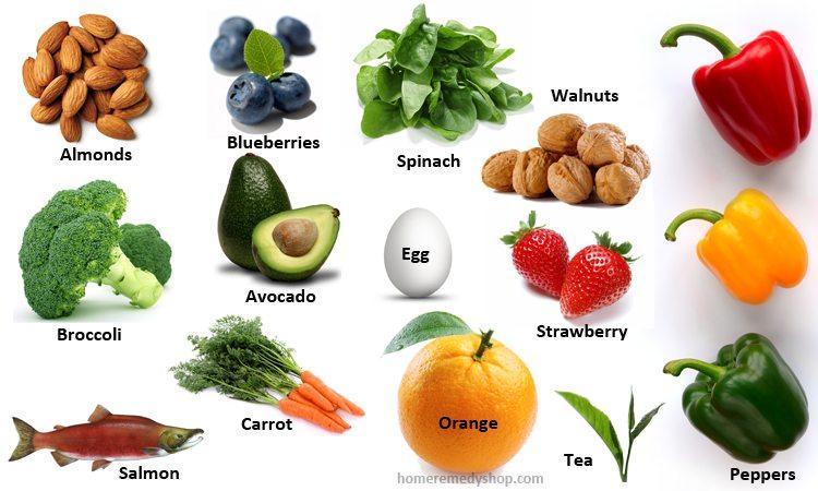 14 Super Alimentos para sano y salvo Ojos