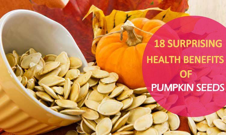 18 Beneficios de semillas de calabaza que usted debe saber