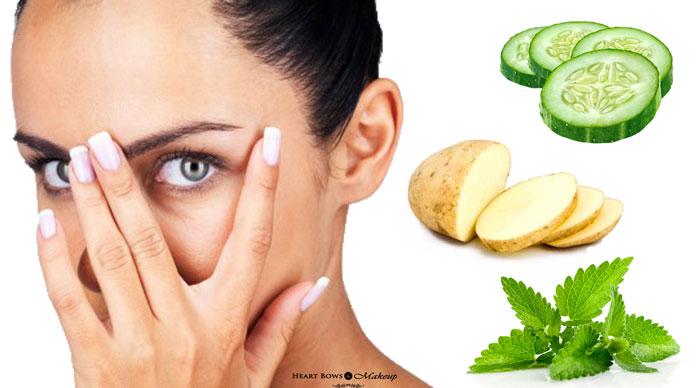 18 Remedios caseros para curar círculos oscuros bajo los ojos