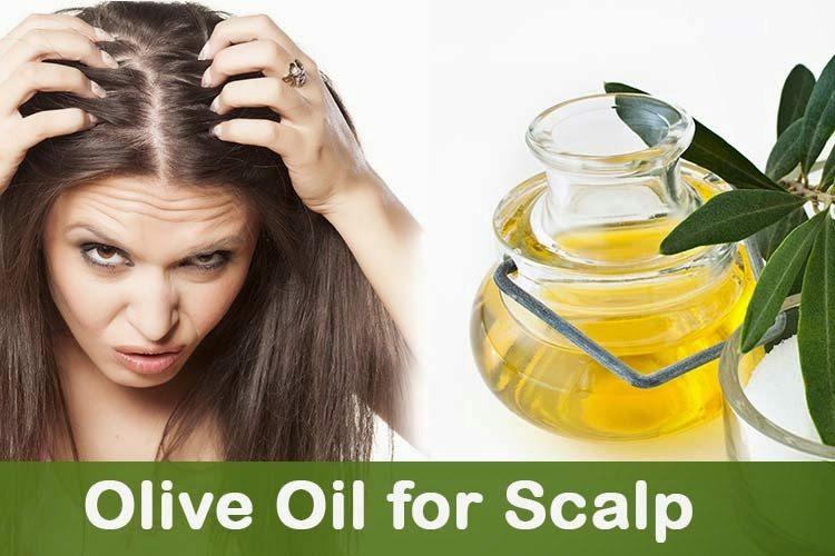 Aceite de Oliva para el cuero cabelludo