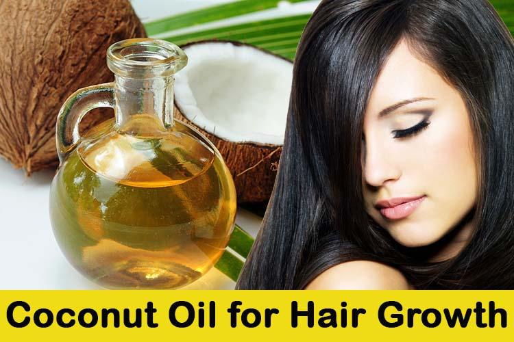 Aceite de coco para el crecimiento del pelo