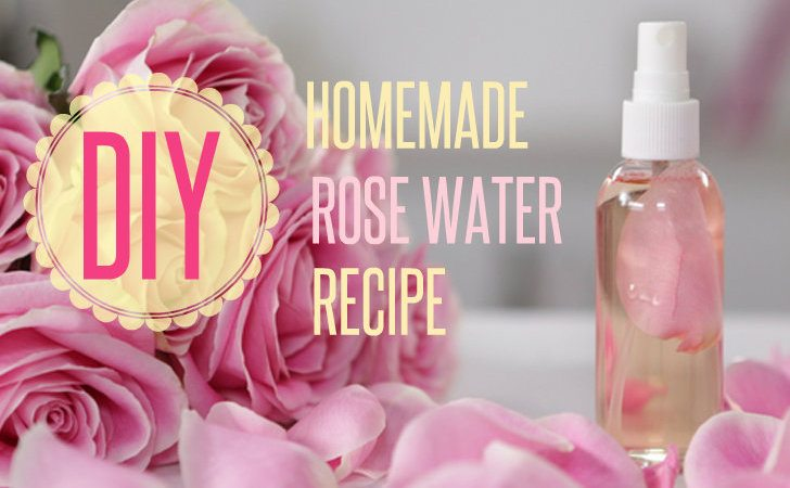 Homemade Rosewater