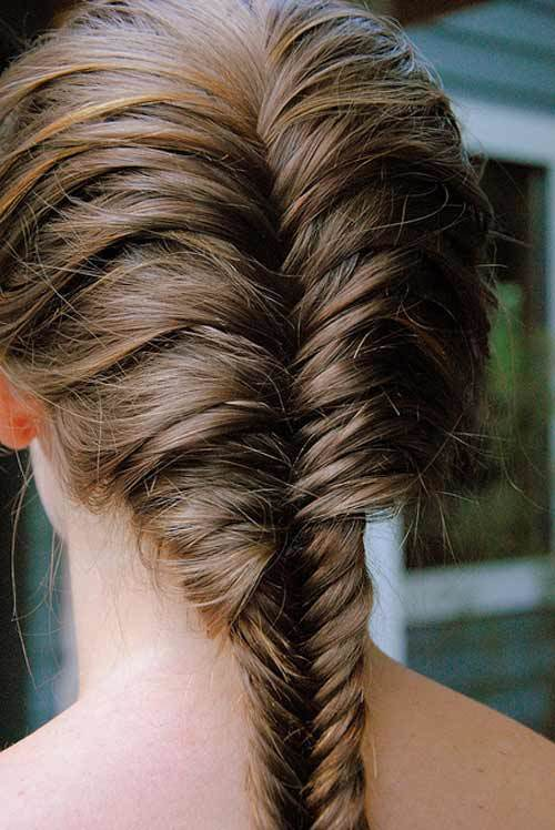 Francés Fishtail Braid