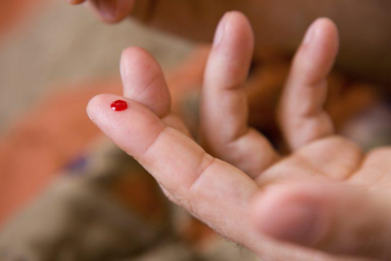 Cantidad de sangre en el cuerpo humano