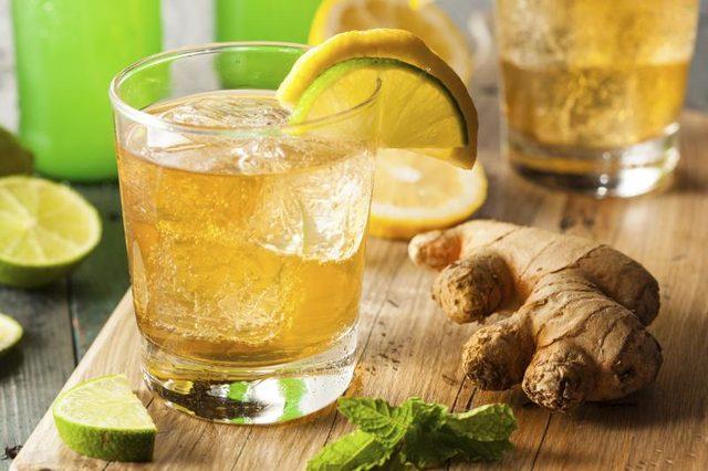 Ginger Ale para Estómago