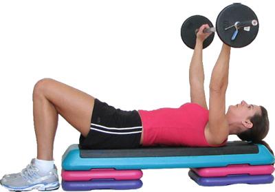 ejercicios de pecho para mujeres