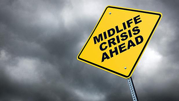 Crisis de la mediana edad en los hombres