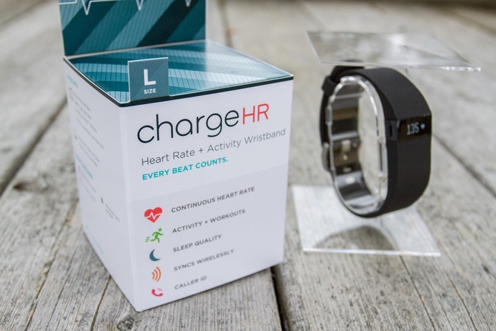 Fitbit carga HR impermeable