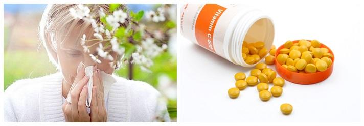 Vitamina C para Alergias