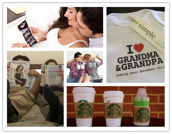 Maneras de Anunciar Embarazo