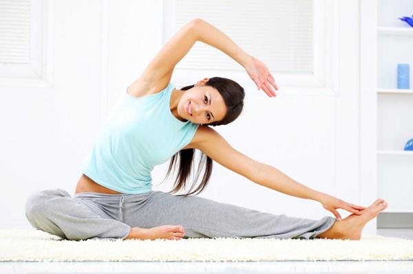 estiramientos para el dolor de ligamentos redondos