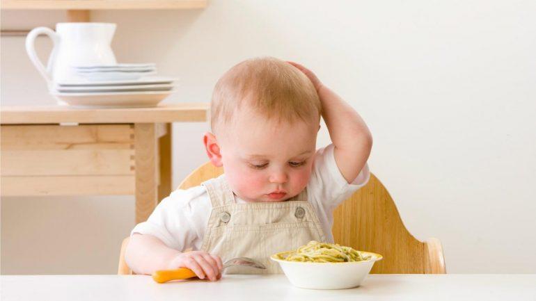 plan de comidas para 1 año de edad